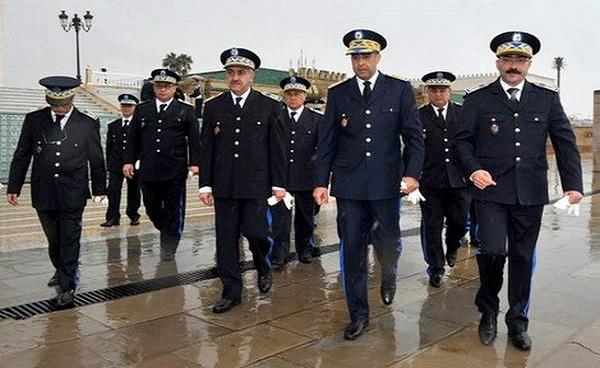 صورة تطبيع فاضح مع الصهاينة ..ضباط من الشرطة المغربية في زيارة سرية إلى إسرائيل !