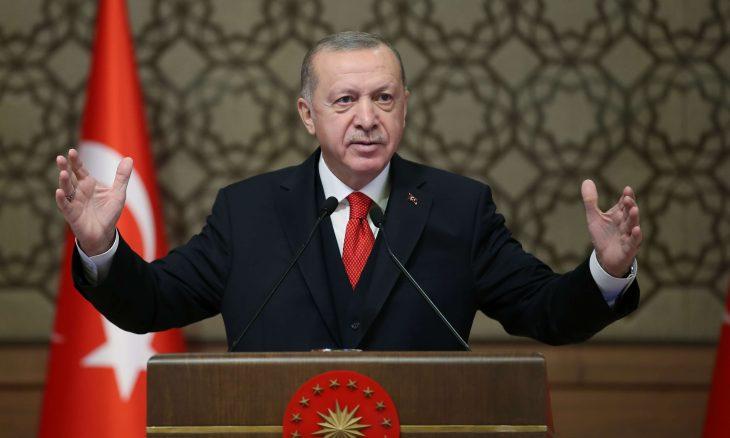 """صورة الرئيس التركي: لن يتوقف الكفاح حتى تحرير """"قره باغ"""" بالكامل"""