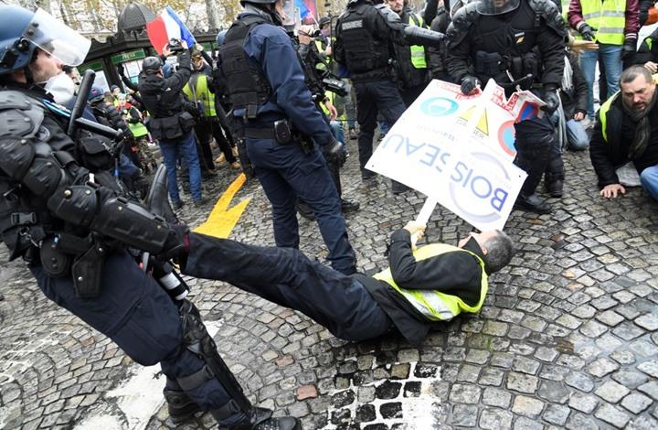 صورة منظمة العفو الدولية: فرنسا ليست نصيرة حرية التعبير كما تزعم