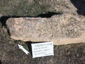 إكتشاف نقيشة ليبية قديمة بموقع قرقور بسريانة في باتنة
