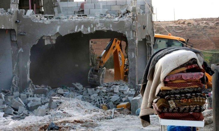 صورة الأمم المتحدة تكشف حجم المأساة..  الاحتلال هدم 129 مبنى فلسطينيا خلال ثلاثة أسابيع
