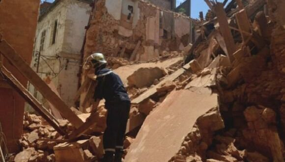العاصمة: انقاذ ثمانية أشخاص بعد سقوط بناية قديمة بأعالي القصبة
