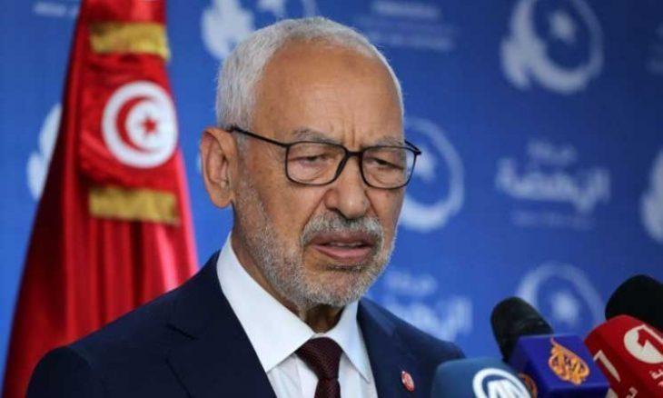 صورة رئيس البرلمان التونسي، راشد الغنوشي:  القوى الفوضوية تسعى لحل البرلمان التونسي
