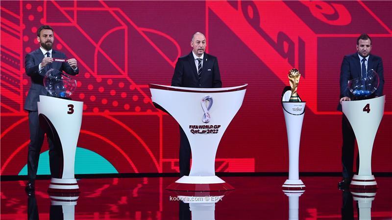 صورة قرعة تصفيات أوروبا المؤهلة لـ كأس العالم 2022.. مجموعات متوازنة لكبار القارة