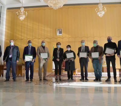 صورة مليكة بن دودة تُشرف على إبرام عقود النّجاعة مع مديري المؤسسات المسرحيّة