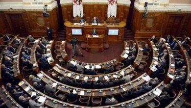 صورة مجلس الأمة:  جلسة عامة تخصص لطرح الأسئلة الشفوية على أعضاء من الحكومة