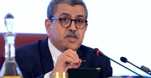 """صورة الوزير الأول  يدعو إلى التضامن لمجابهة التحديات:  """"الكيان الصهيوني على الحدود والجزائر مستهدفة"""""""