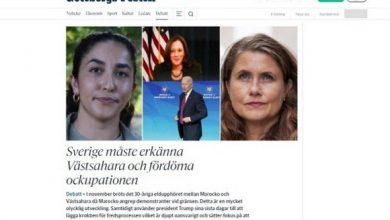 """صورة السويد: حزب الخضر يطالب الحكومة بالاعتراف بالصحراء الغربية """"دولة"""""""
