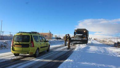 صورة الثلوج تشل حركة المرور بـ 7 طرق وطنية و5 ولائية والدرك الوطني يحذر السائقين