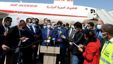 صورة الجزائر – موريتانيا:  التأكيد على تعزيز التعاون الثنائي سيما في مجال الصحة