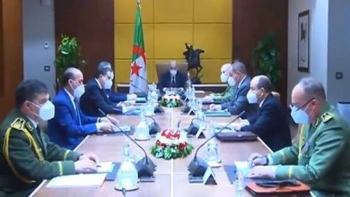 صورة الرئيس تبون يترأس اجتماعا دوريا للمجلس الأعلى للأمن