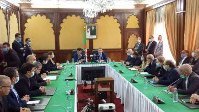 صورة تنصيب مصطفى كمال ميهوبي وزيرا للموارد المائية خلفا أرزقي براقي
