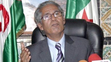 صورة وزير الخارجية الصحراوي: مغالطات المغرب على الجزائر ستؤدي بالمملكة للهاوية