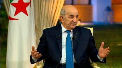 صورة عبد المجيد تبون يجري لقاء دوريا مع ممثلي الصحافة الوطنية