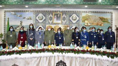 صورة عيد المرأة: الفريق السعيد شنقريحة يترأس حفلا على شرف المستخدمات العسكريات والمدنيات للوزارة