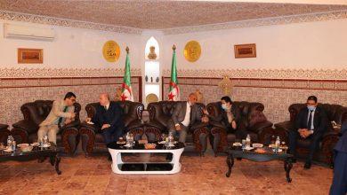 صورة الوفد الوزاري في زيارة عمل تفقدية لولاية أدرار