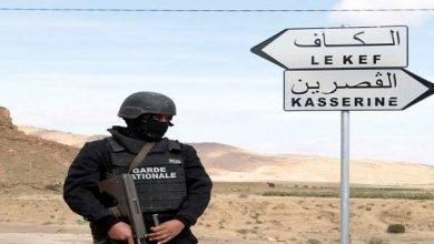 صورة القضاء على ثلاث إرهابيين على الحدود الجزائرية التونسية