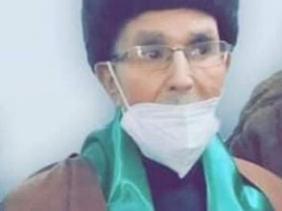 صورة خنشلة: جثمان المجاهد محمد الطاهر بوشارب يوارى الثرى بمقبرة بلدية بغاي