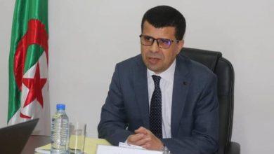 صورة وزير الموارد المائية في زيارة عمل وتفقد لولاية المدية