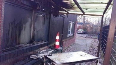 صورة هولندا.. إضرام النار في مسجد قيد البناء