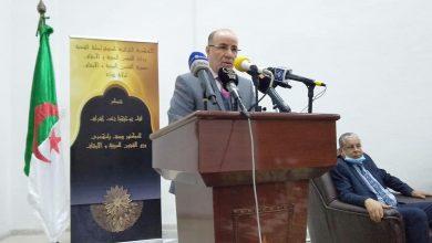 صورة وزير الشؤون الدينية:  الأئمة بالمرصاد لدعاة الفتنة ومروجي الفكر الظلامي