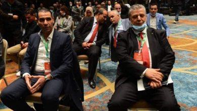 صورة يتسلم  شرف الدين عمارة مهامه خلفا للرئيس السابق زطشي