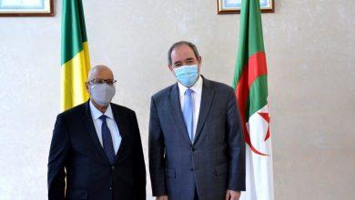 صورة بوقدوم: وجب تعزيز الشراكة الجزائرية-المالية بين المتعاملين الإقتصاديين