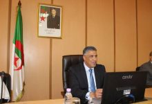 صورة بلعريبي يشدد على ضرورة الانتهاء من الأشغال العمومية في الآجال المحددة