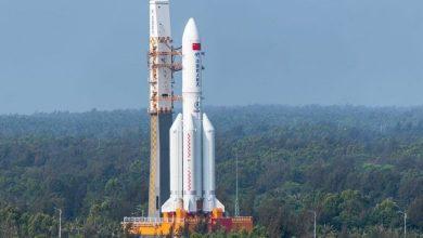 صورة الصين تفقد السيطرة على صاروخها مما يشكل خطرا على سقوطه فوق الولايات المتحدة الأمريكية
