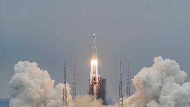 صورة البروفيسور علاء النهري: هذا هو موعد سقوط الصاروخ الصيني ووجهته