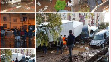 صورة بلجود يقدم تعازي رئيس الجمهورية لعائلات ضحايا فيضانات بني سليمان بالمدية