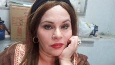 صورة وفاة الفنانة نادية العراقية بكورونا