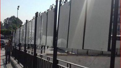 صورة غياب الملصقات الاشهارية لقوائم المترشحين بوهران