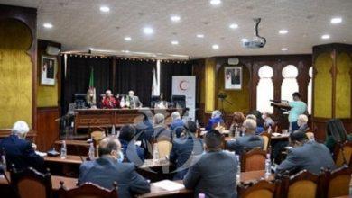 صورة الهلال الأحمر الجزائري، فاعل رئيسي في العمل الانساني