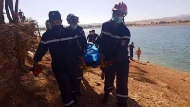 صورة الشلف: العثور على جثة  الصياد المفقود  في عرض البحر