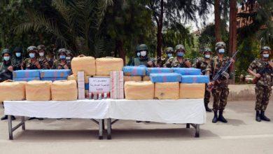 صورة حجز أزيد من 25 طن من القنب الهندي في الجزائر