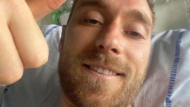 صورة يولماند: إريكسن سيظل في المستشفى ولن يكون حاضرا في مباراة الغد أمام بلجيكا