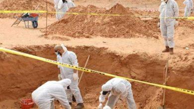 صورة ليبيا: اكتشاف مقبرة جماعية جديدة في مدينة ترهونة