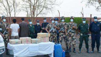 صورة مفارز الجيش: توقيف 8 عناصر دعم للجماعات الإرهابية وتدمير 4 مخابئ