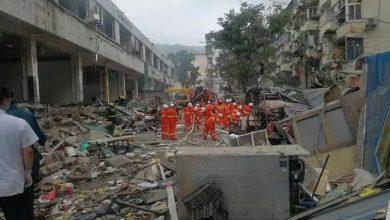 صورة الصين… مقتل 12 شخصا وإصابة 138 آخرين في إنفجار أنبوب كبير للغاز الطبيعي
