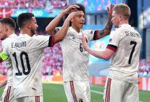 صورة بلجيكا تتأهل بهدفين مقابل واحد ضد الدنمارك