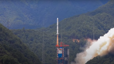 صورة الصين تطلق دفعة جديدة من الأقمار الصناعية نحو الفضاء