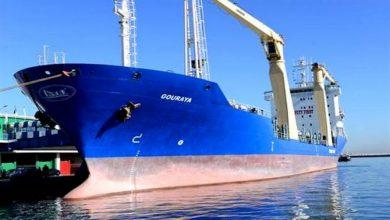"""صورة نقل بحري: """"كنان"""" تستلم سفينة جديدة لنقل البضائع"""
