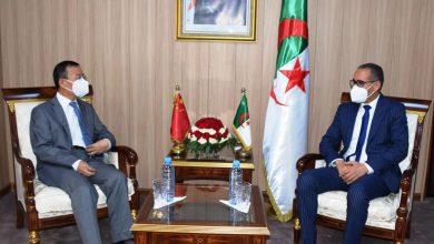 صورة الاتفاق على تسليم الهياكل الرياضية في الآجال المعقولة بين الجزائر والصين