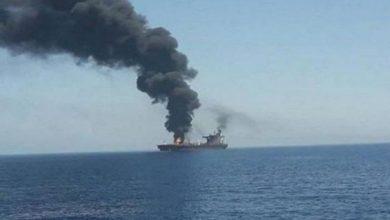 """صورة """"سفينة بحر العرب"""".. الجيش الأمريكي يكشف تفاصيل جديدة عن الهجوم"""