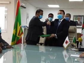 صورة بولخراص يؤكد التزام الجزائر بدعم موريتانيا في انطلاقتها الاقتصادية