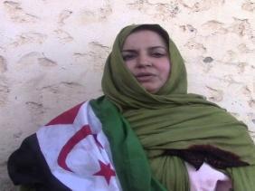 صورة قوات الاحتلال المغربي تواصل حملة القمع ضد الناشطة الصحراوية سلطانة خيا