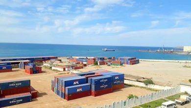 """صورة ميناء مستغانم: نمو""""قياسي"""" للصادرات خلال الأشهر الخمسة الأولى من سنة 2021"""