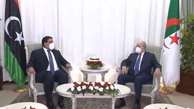 """صورة الرئيس تبون: """"الجزائر رهن إشارة ليبيا دون أطماع"""""""