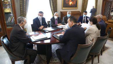صورة توزيع المهام على نواب رئيس مجلس الأمة